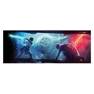 Неформатный постер Star Wars. Размер: 240 х 90 см